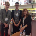 Angela with some of the Book Guild Team at the London Book Fair April 2015